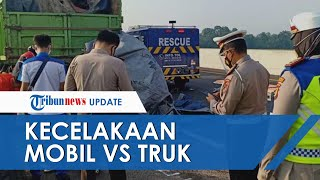 Kecelakaan Maut Mobil Vs Truk di Palembang, 4 Orang Tewas dan Satu Selamat karena Tidur di Bagasi