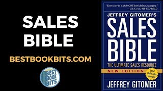 Jeffrey Gitomer: The Sales Bible Book Summary
