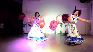 Цыганский танец с бубном