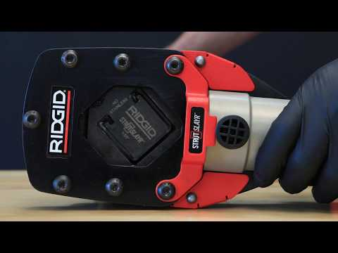Introducing the RIDGID® StrutSlayr™ Strut Shear Head