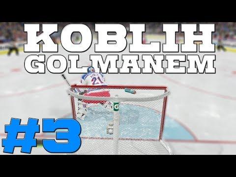 NHL 19 | KOBLIH GOLMANEM #3 | ČEKÁ NÁS DRAFT NHL! | CZ/SK