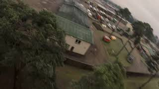 FPV Drone Freestyle .. Railway track