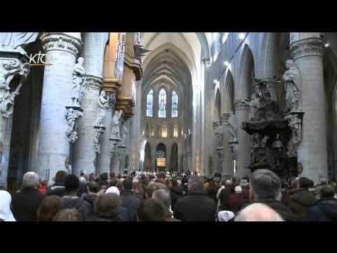 Veillée de prière en la Cathédrale Saints-Michel et Gudule de Bruxelles