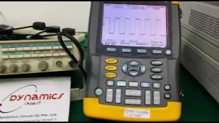 Fluke 196B Scopemeter Repaired By Dynamics Circuit (S) Pte. Ltd.