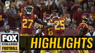 Texas vs USC | Highlights | FOX COLLEGE FOOTBALL