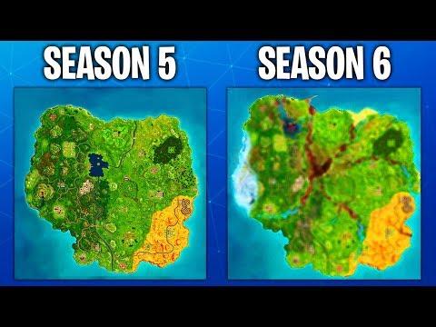 Fortnite Season 6 Map Leaked Fortnite Battle Royale