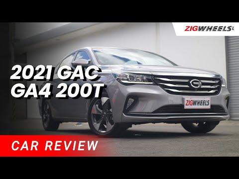 2021 GAC GA4 200T Review   Zigwheels.Ph