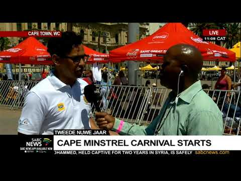 Cape Town Minstrels carnival under way