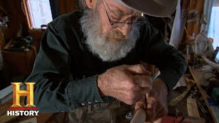 Mountain Men: Tom Assembles A Traditional Native American Lance (S7, E14) | History