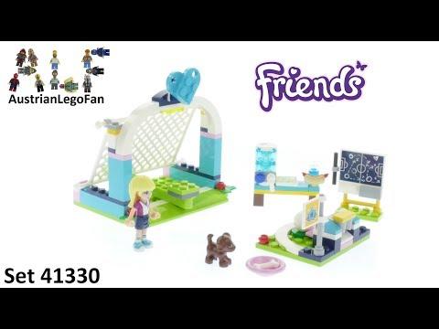 Vidéo LEGO Friends 41330 : L'entraînement de foot de Stéphanie