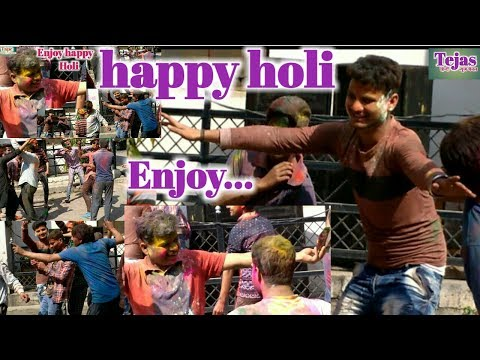 Happy Holi, Wishes All My Family Members || Holi 2018 || Holi Latest Dance Full Enjoy
