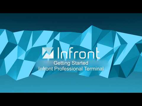 Getting Started in the Infront Professional Terminal - Infront Tutorial