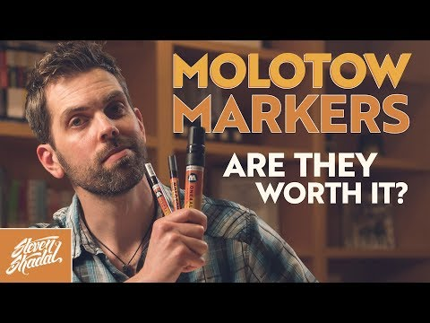 Molotow Marker Review (Are they worth it?!)