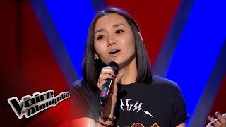 "Sanchir.U - ""Believe"" - Blind Audition - The Voice of Mongolia 2018"