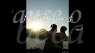 Because Of You (98 Degrees) -------