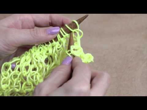 How to: Fishnet Stitch