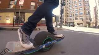 Onewheel V1 Chicago Commute: ViBES