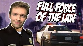FULL FORCE OF THE LAW - GTA:V Police Mod!