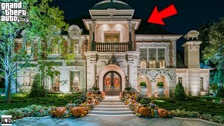 GTA 5 REAL LIFE MOD SS8 #8 ULTIMATE FAMILY MANSION