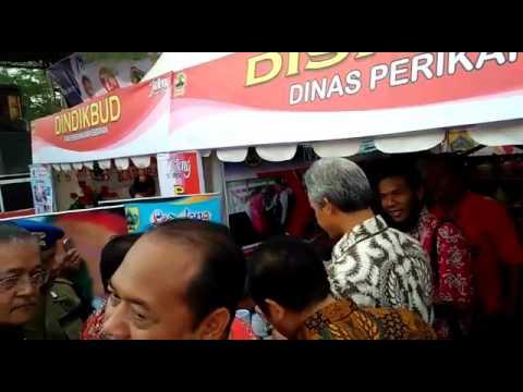 Kunjungan Gubernur Jateng di Booth Seaprime Food Melihat Industri Olahan Kepiting Rajungan