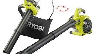 Воздуходувка Ryobi RBV 26B видео