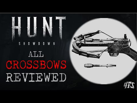 Hunt Showdown: All Crossbows Reviewed