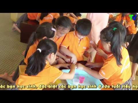 Tham quan Học viện khám phá cùng học sinh Khối 3 - Trường Tiểu học QT Thăng Long
