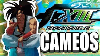 The King Of Fighters XIII | ALL STAGE CAMEOS | *FIXED* | By CovenantNexus13 | KOF XIII | CAMEOS