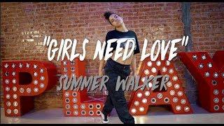 "Summer Walker   ""Girls Need Love""   Nicole Kirkland Choreography"