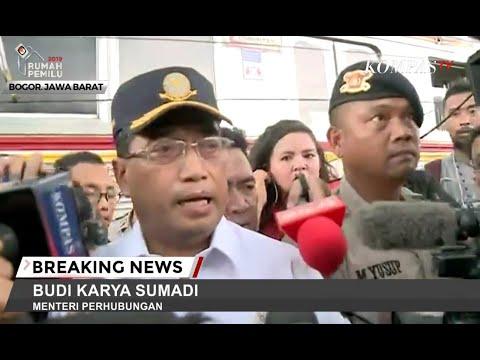 KRL Anjlok dan Terguling di Bogor, Menteri Perhubungan Minta Maaf