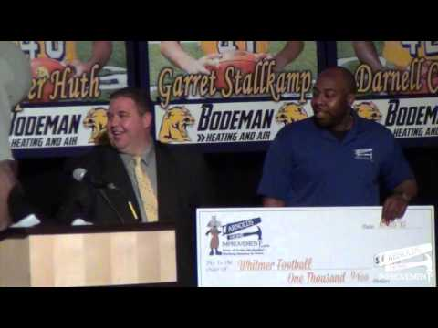 Arnie and the Arnold's Home Improvement team donated $1,000 to Whitmer Football. Go Panthers!