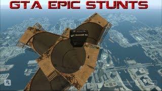 GTA IV Epic stunts compilation