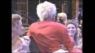 1996 Diana Ross Sits on Michael's Lap at World Music Award with Princess Stephanie HD1080i