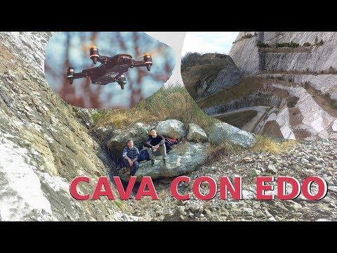 Escursione in cava con Edo || riprese col drone in FullHD