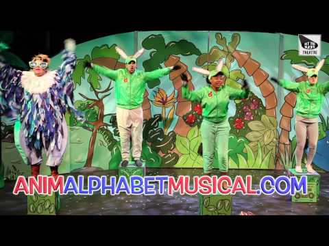 ANIMALPHABET -   TEASER -   HIT THE MARK THEATRE