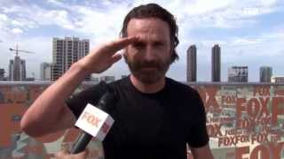 MOVISTAR TV - Serie The Walking Dead T5 Entrevista A Andrew Lincoln