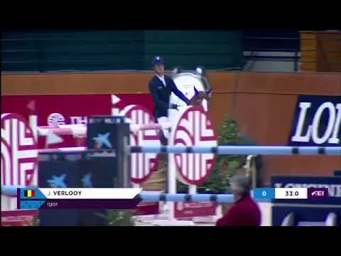 4th place for Jos and Igor in the LR 1m60 World Cup Qualifier at CSI5*-W La Coruna.