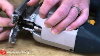 How to insert a ryobi jigsaw blade most popular videos how to replace the blade roller assembly in a bosch 1587avs jigsaw a quick greentooth Gallery