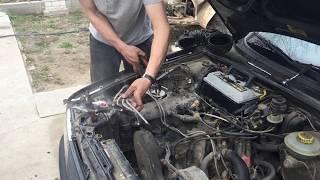 "k-jetronic как проверить форсуки ""Джидай"" ?| Без запуска двигателя на ауди 80"