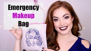 What's in my EMERGENCY Makeup Bag!!