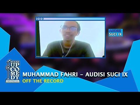 Stand Up Muhammad Fahri: Sehari Bayar Kuliah Cuma Goceng - AUDISI SUCI IX