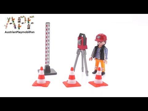 Vidéo PLAYMOBIL City Action 5473 : Géomètre