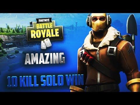 download 10 kill solo win in fortnite battle royale no audio - fortnite 11 kill win thumbnail