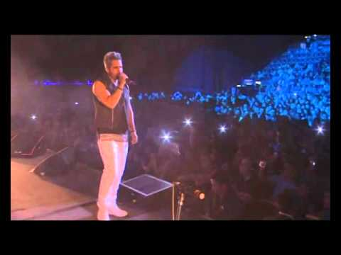 Daniel Santacruz video Soy el mismo - En vivo - Buenos Aires 2015