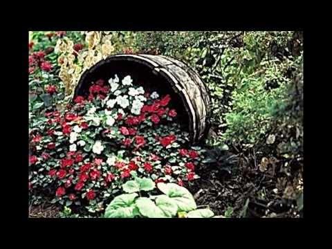 Kreative Gartenidee -- Blumen attraktiv pflanzen und Illusionen schaffen