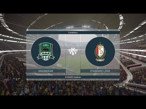 PES 2019 | Krasnodar vs Standard Liege | Krasnodar Stadium | UEFA Europa League видео