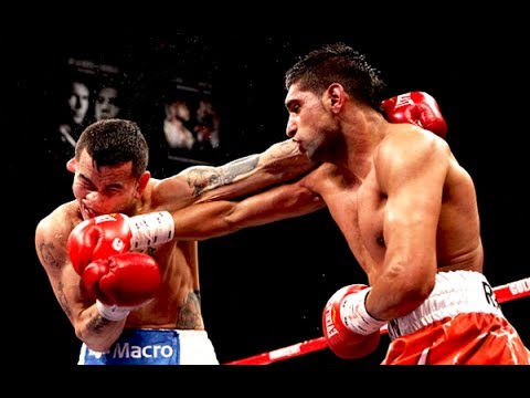 Amir Khan vs Marcos Maidana - Highlights (Speed vs Power)