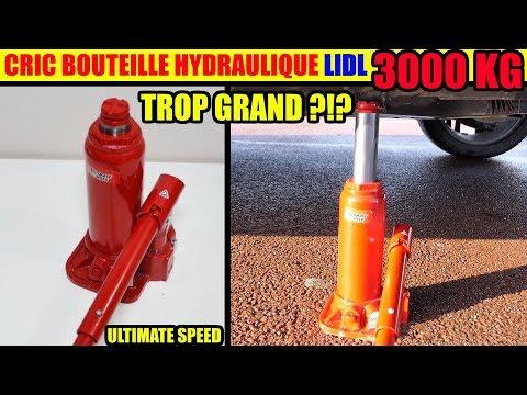cric bouteille hydraulique lidl ultimate speed Hydraulic Bottle Jack Hydraulik-Wagenheber 3000 kg