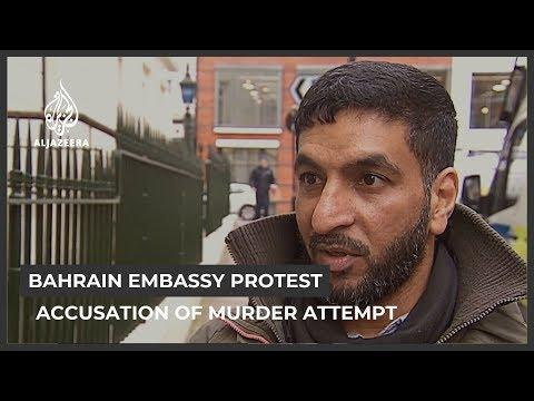 Bahraini dissident says embassy staff tried to kill him