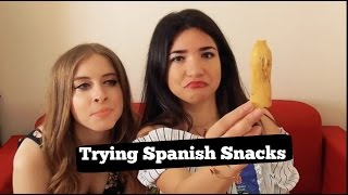 Δοκιμάζοντας καυτά & πρόστυχα Ισπανικά Snacks !!